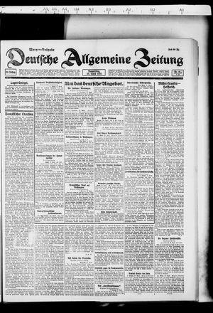 Deutsche allgemeine Zeitung vom 28.04.1921