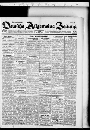 Deutsche allgemeine Zeitung vom 29.04.1921