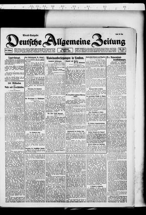 Deutsche allgemeine Zeitung vom 30.04.1921