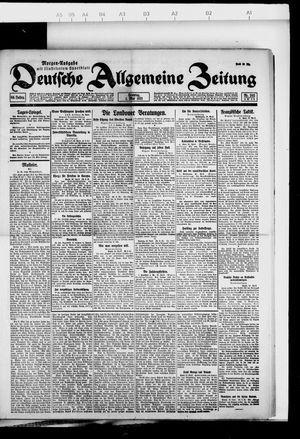 Deutsche allgemeine Zeitung vom 01.05.1921