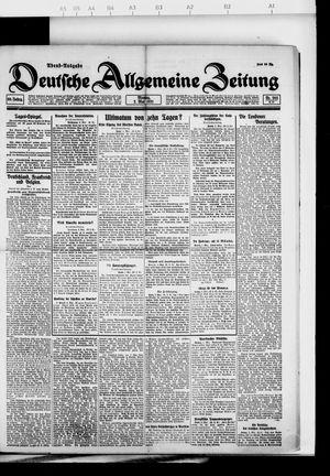 Deutsche allgemeine Zeitung vom 02.05.1921