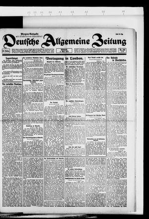 Deutsche allgemeine Zeitung vom 04.05.1921