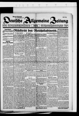 Deutsche allgemeine Zeitung vom 05.05.1921
