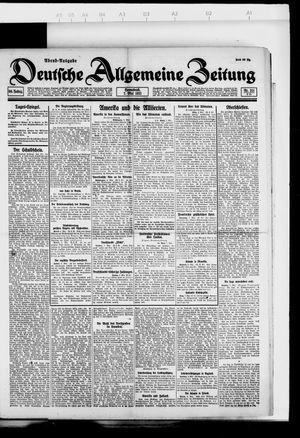 Deutsche allgemeine Zeitung vom 07.05.1921