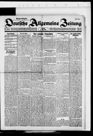 Deutsche allgemeine Zeitung vom 08.05.1921