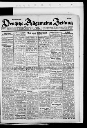 Deutsche allgemeine Zeitung vom 10.05.1921