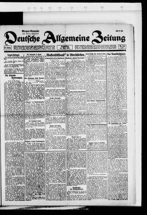 Deutsche allgemeine Zeitung vom 12.05.1921