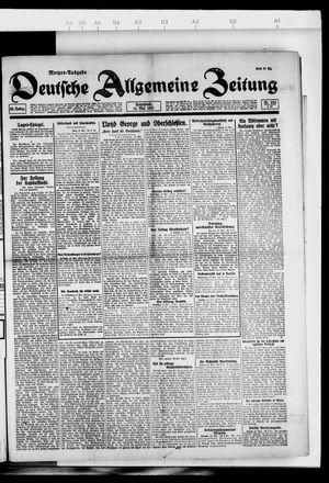 Deutsche allgemeine Zeitung on May 14, 1921