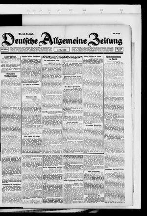 Deutsche allgemeine Zeitung vom 17.05.1921