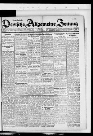 Deutsche allgemeine Zeitung vom 18.05.1921
