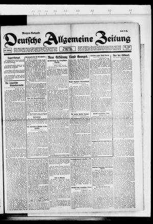 Deutsche allgemeine Zeitung vom 19.05.1921