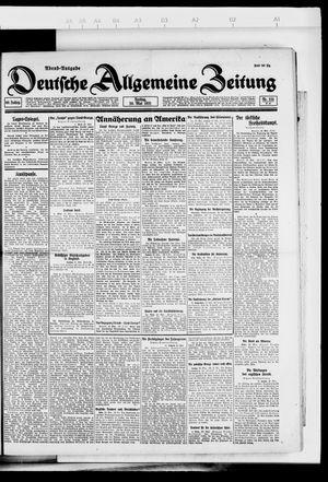 Deutsche allgemeine Zeitung vom 20.05.1921
