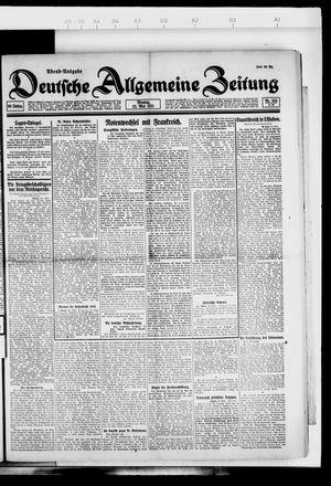 Deutsche allgemeine Zeitung vom 23.05.1921