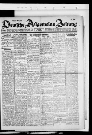 Deutsche allgemeine Zeitung on May 24, 1921