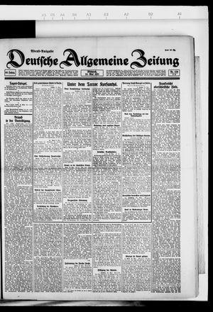 Deutsche allgemeine Zeitung vom 25.05.1921