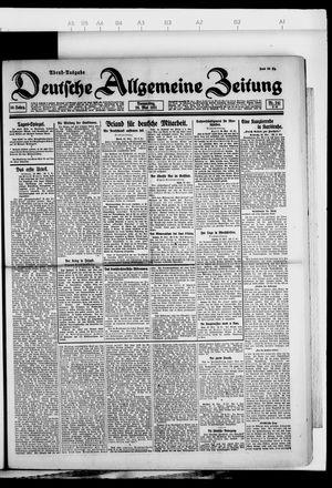Deutsche allgemeine Zeitung vom 26.05.1921