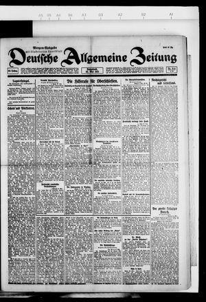 Deutsche allgemeine Zeitung vom 28.05.1921
