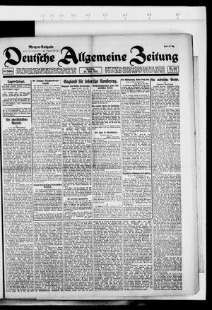 Deutsche allgemeine Zeitung vom 29.05.1921
