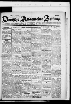 Deutsche allgemeine Zeitung vom 01.06.1921