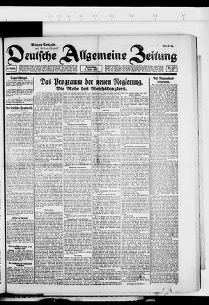 Deutsche allgemeine Zeitung vom 02.06.1921