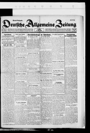 Deutsche allgemeine Zeitung vom 03.06.1921