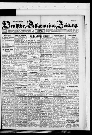 Deutsche allgemeine Zeitung vom 04.06.1921