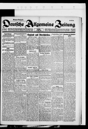 Deutsche allgemeine Zeitung vom 05.06.1921