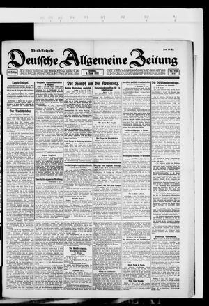 Deutsche allgemeine Zeitung vom 06.06.1921