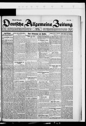 Deutsche allgemeine Zeitung vom 07.06.1921