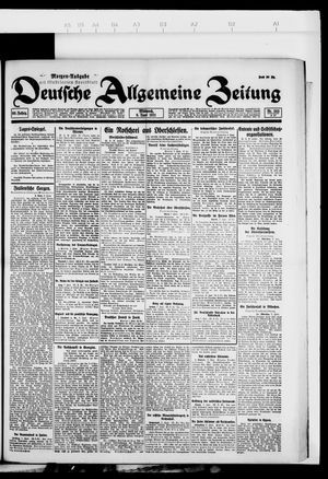 Deutsche allgemeine Zeitung vom 08.06.1921