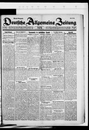 Deutsche allgemeine Zeitung vom 09.06.1921