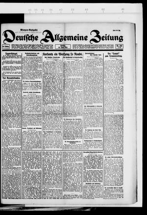 Deutsche allgemeine Zeitung vom 10.06.1921