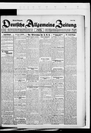 Deutsche allgemeine Zeitung vom 11.06.1921