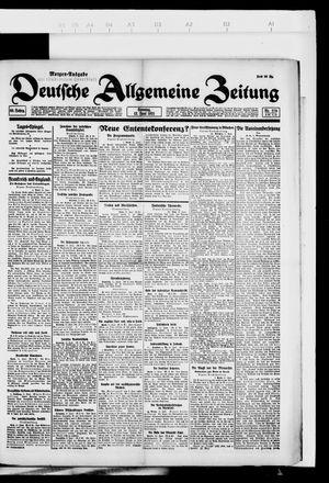 Deutsche allgemeine Zeitung vom 12.06.1921