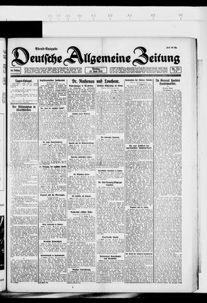 Deutsche allgemeine Zeitung vom 13.06.1921