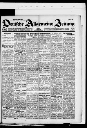 Deutsche allgemeine Zeitung vom 14.06.1921
