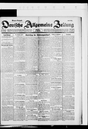 Deutsche allgemeine Zeitung vom 15.06.1921