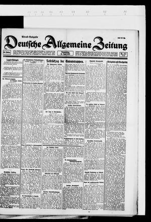 Deutsche allgemeine Zeitung vom 16.06.1921