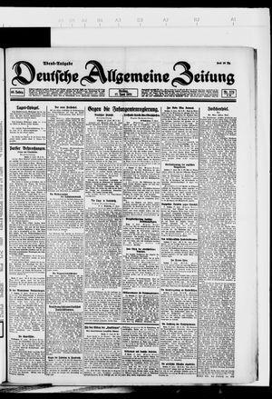 Deutsche allgemeine Zeitung vom 17.06.1921