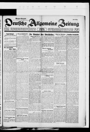 Deutsche allgemeine Zeitung vom 18.06.1921