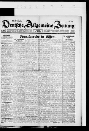 Deutsche allgemeine Zeitung vom 20.06.1921
