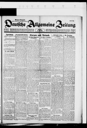 Deutsche allgemeine Zeitung vom 21.06.1921