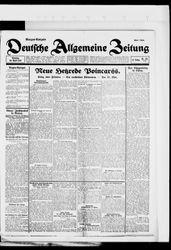 Deutsche allgemeine Zeitung (25.04.1922)