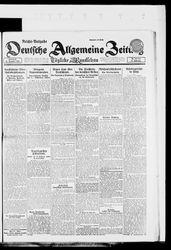 Deutsche allgemeine Zeitung (16.12.1922)