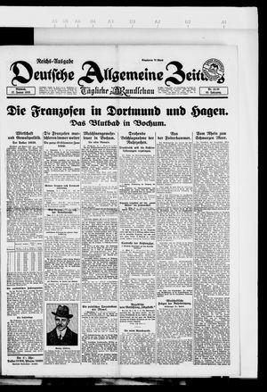 Deutsche allgemeine Zeitung vom 17.01.1923