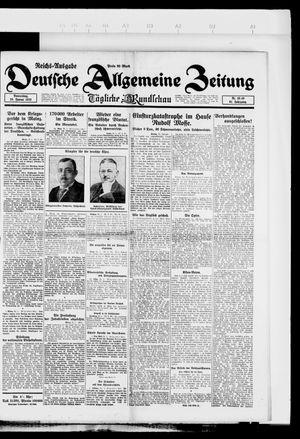 Deutsche allgemeine Zeitung vom 25.01.1923