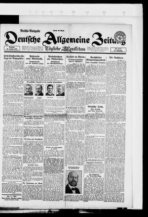 Deutsche allgemeine Zeitung vom 30.01.1923