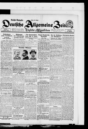Deutsche allgemeine Zeitung vom 02.02.1923