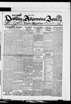 Deutsche allgemeine Zeitung vom 04.02.1923