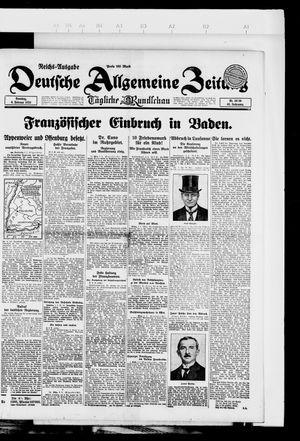 Deutsche allgemeine Zeitung vom 06.02.1923